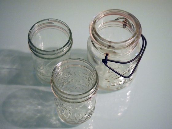 Glow Stick Lanterns   Mason Jars