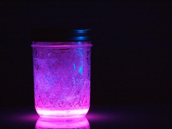 Glow Stick Lanterns
