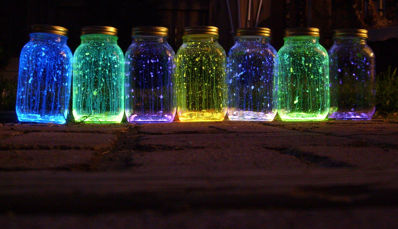 31 DIY Projects In 31 Days Glow Stick Lanterns
