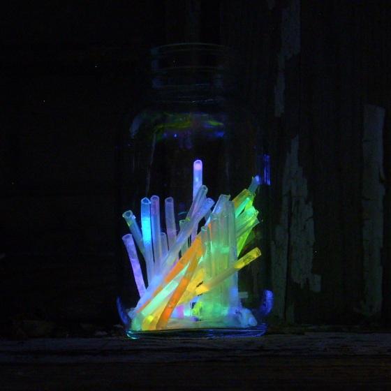 broken glow sticks