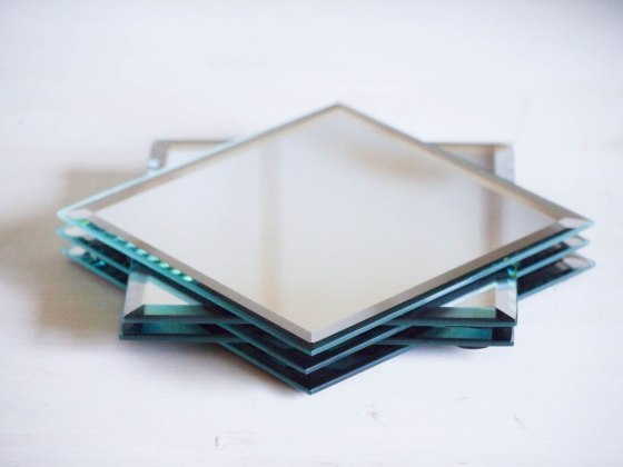 Diy Mirror Cube Happily Dwell